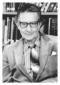 El psicólogo inglés H.J. Eysenck