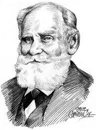 Retrato del fisiólogo ruso Ivan Pávlov